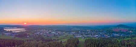 Station thermale Altenberg en Saxe au printemps Banque d'images