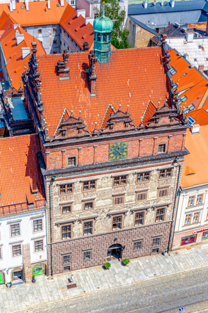 The Town Hall of Pilsen in the Czech Republic