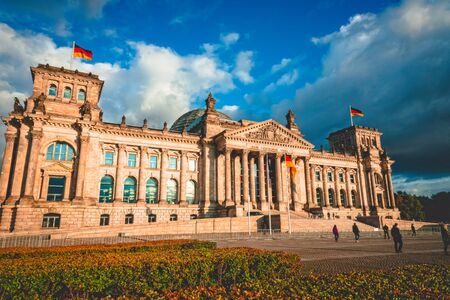 The Reichstag building in Berlin capital Germany