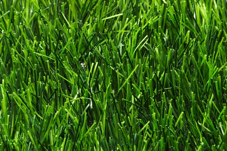 Artificial grass for multi-sports playground  Stock Photo