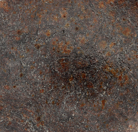 Wet rusty metal texture background Stock Photo