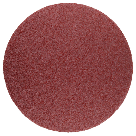 Abrasive disc for grinding and cleaning of metal, wood, paint and other materials. Оbject isolated on white background
