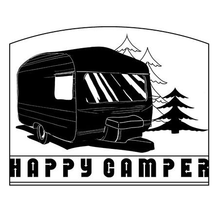 218 Caravans Stock Vector Illustration And Royalty Free Caravans ...
