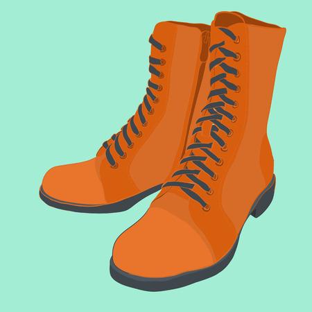Women shoe illustration. Illustration