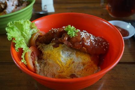 Katsu Beefy Donburi (Rice Bowl) - Japanese Food