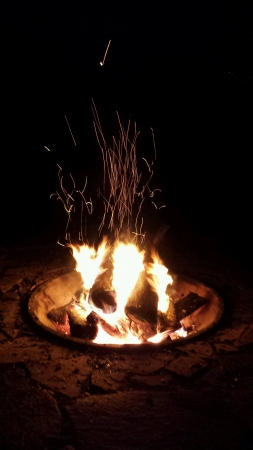 Fire Pit and Sparks