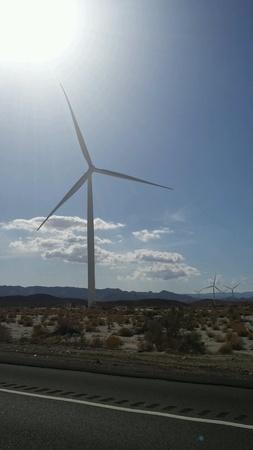natural energy: Windmills creating natural energy