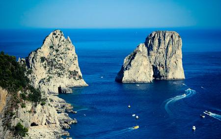 capri: Capri Faraglioni