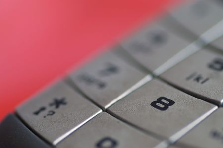Lucky number - digit 8 of a telephone keyboard