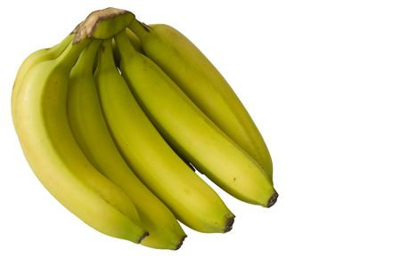 Abunch of fresh bananas