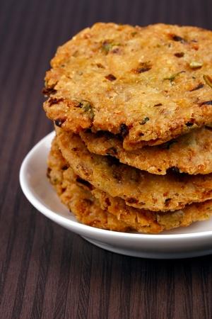 Deep fried indian snack popular in srilanka, fiji, malaysia. photo