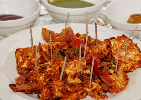 paneer: A traditional indian dish made of panner and vegetables mixed with masala