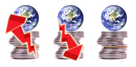 Money, finance and economy of the world.  Stock Photo - 12033900