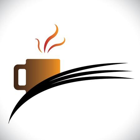 demitasse: Freshly brewed coffee