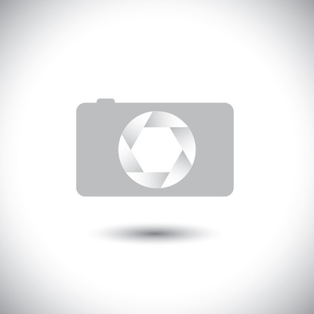 This graphic is simple representation of trendy photographic tool for taking photos & videos