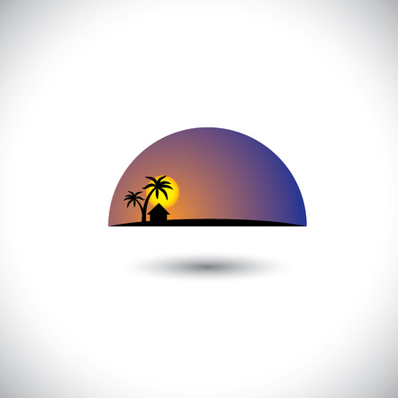 This graphic concept represents concepts like vacation destination, holiday places, travel locations, etc Stock Vector - 23866447
