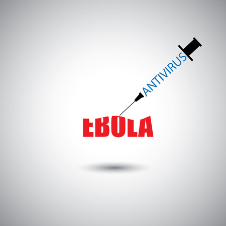 ebola: prevent ebola epidemic using antivirus concept