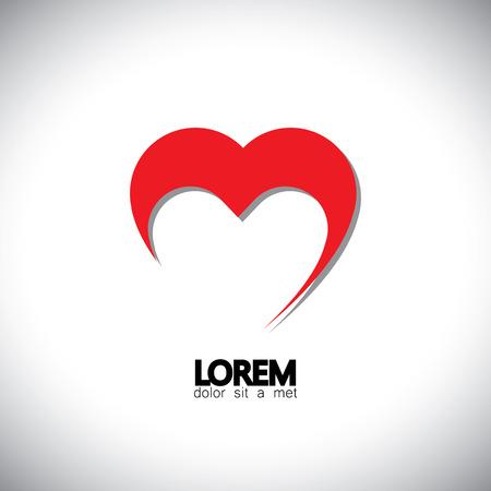 simbol: San Valentino di simbol cuore di giorno o vettore icona. Ciò rappresenta anche l'amore che esprime, sentimenti positivi, le emozioni sentite di amore profondo, etc