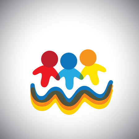 Vector Icon Of Team And Teamwork This Also Represents Social