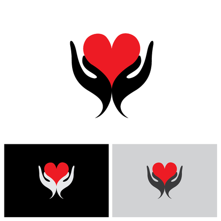 unique: concept of wellness, protecting heart health - vector graphic. also represents concepts like expressing love, valentines day concept, etc