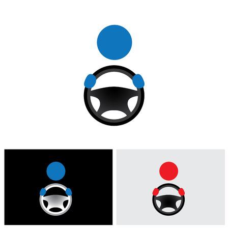 taxista: icono del controlador, icono del controlador de vector, icono del controlador de eps 10, logotipo controlador, icono signo conductor, conducción icono, aprender icono de conducción, icono del chofer, icono del motorista, icono logotipo, icono viajero, icono de la unidad motriz Vectores