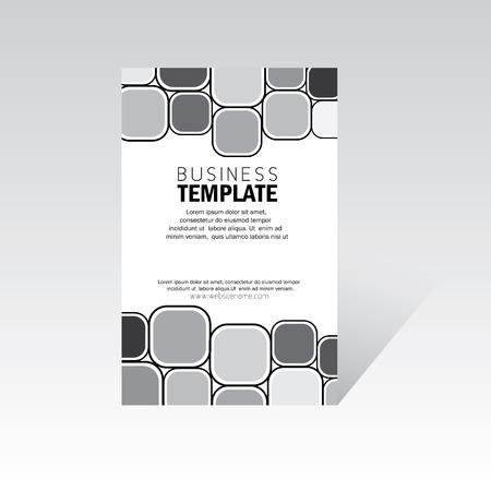 business brochure, leaflet, Vettoriali
