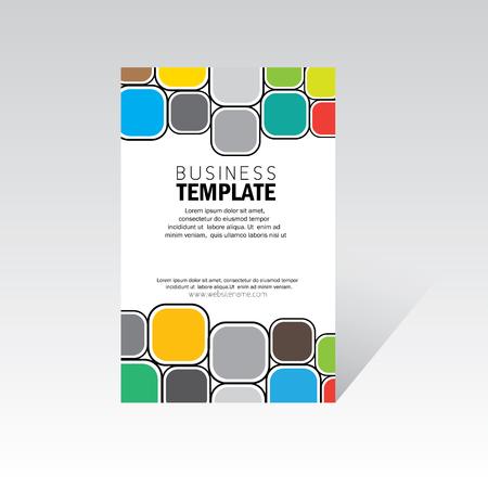 business brochure, leaflet, poster