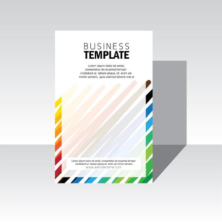 business brochure design cover - Vettoriali