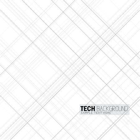 vector illustration criss cross lines background on white Vettoriali
