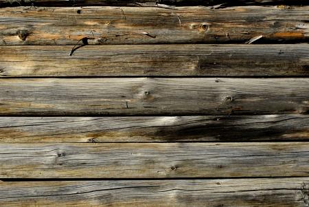Oude natuurlijke houten muur textuur Stockfoto