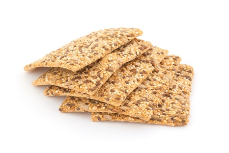 low cal: Fitness low-cal cookies with sesame and sunflowers seeds