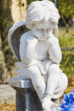Sitting Cherub