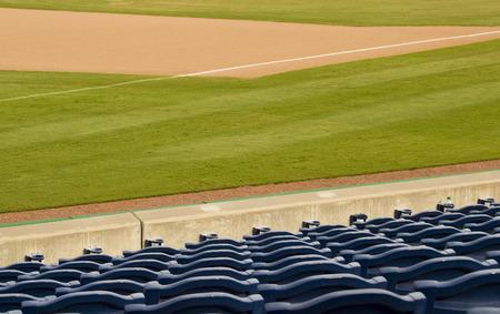 outfield: Empty Stadium