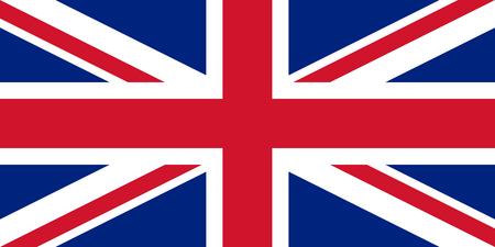 United Kingdom Great Britain Union Jack flag vector isolate banner print illustration