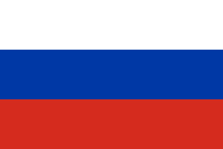 Russian flag vector isolate for banner or print or illustration