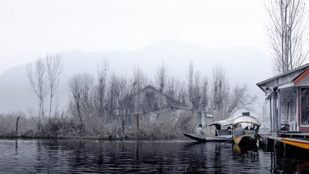 kashmir: Dal Lake is a lake in Srinagar, Kashmir, India