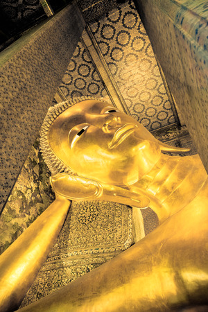 Wat Pho is one of Bangkoks oldest temples. It existed before Bangkok was established as the capital by King Rama I.