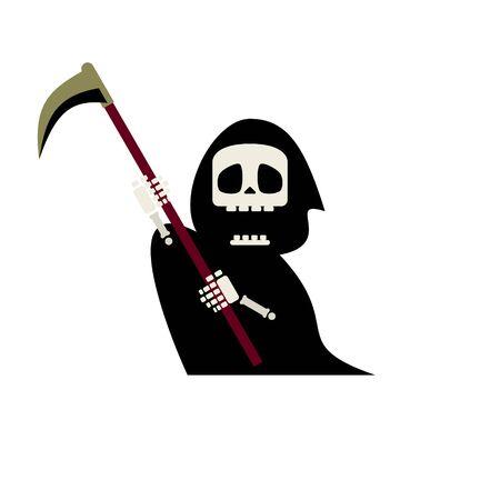 Cute Reaper Illustration 02  イラスト・ベクター素材