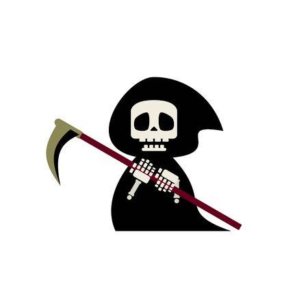 Cute Reaper Illustration 01
