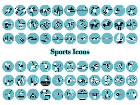 Icon set for games
