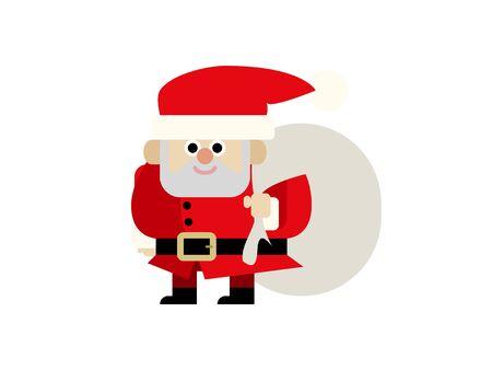 Santa Claus Illustration 01 Illustration