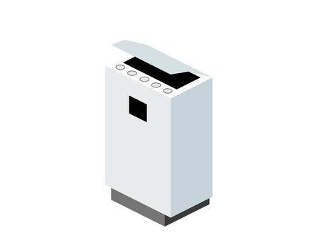 Isometric Simple Air Purifier Illustrations
