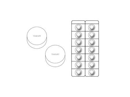 Simple monochrome illustration of tablet-type drinking pills 免版税图像 - 130552726