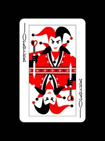 Joker Design Stock Illustratie
