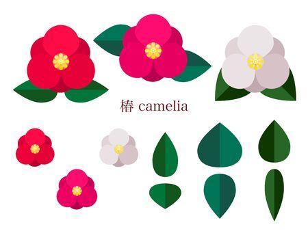 Simple illustration of the rose 免版税图像 - 140797389