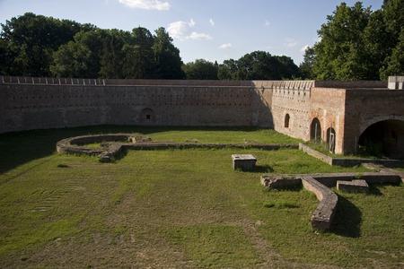 hungary: Szigetvar Castle in Hungary Stock Photo