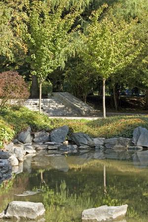 citypark: City Park or Mestni park in Maribor Slovenia