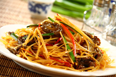 chinese food: Chinese delicious food Stock Photo