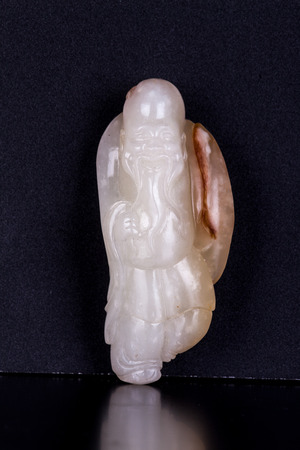 the autograph: Jade carving exquisite collectables - autograph