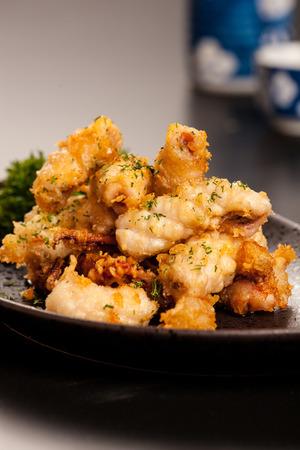 poner atencion: cocina japonesa, variedad patr�n, hizo cuidado, prestar atenci�n a la nutrici�n, la est�tica de cocina Foto de archivo